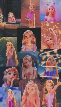 Disney Tangled wallpaper   Disney collage, Cute disney drawings, Cute disney wallpaper