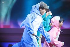 """1,160 Likes, 4 Comments - YOONMIN (@bts7yoonmin) on Instagram: """"Jiminie in a blue shark onesie is the softest thing after his green dinosaur onesie :( - cr. owner"""""""