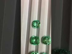 29.80 Carats 7 Pcs Colombian Emeralds by RareGem.in