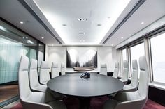 Design by The Good Studio for Sun International Finance Group (HK)  Conference Room, Interior Design, Commercial Design, Corporate Office Design