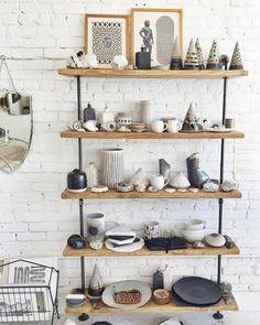 ceramics shelfie at ESQUELETO los angeles