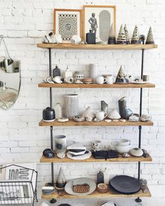 ceramics shelfie at ESQUELETO los angeles