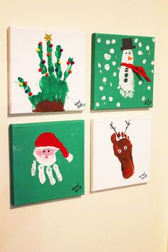 handprint Christmas Crafts Before having kids, Christmas was that glamorous night full of festivities and gifts, delicious food and lots of booze, and back home for the family gathering. Now, with my boys (nady 5 and joud Christmas Crafts For Toddlers, Diy Christmas Gifts, Holiday Crafts, Christmas Handprint Crafts, Childrens Christmas Crafts, Christmas Gift From Baby, Diy Christmas Keepsakes, Kids Christmas Crafts, Christmas Decor