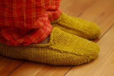Si's Slippers | Project Specs Pattern: Malabrigo Loafers des… | Flickr