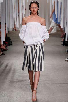Runway / Milly / New York / Frühjahr 2016 / Kollektionen / Fashion Shows / Vogue