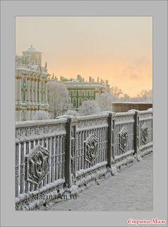 Снежно-белый Петербург.