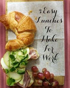 5 Delicious Lunches to Make for Work