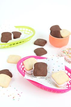 French Fry Cookies PrintablesSandwich-Shaped Ice Cream Sandwiches Lip Print Top DIY Printables