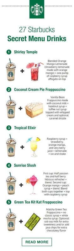 27 Starbucks Secret Menu Drinks You'll Be Ordering All Summer