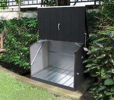 Fahrradbox / Aufbewahrungsbox Trimetals Stowaway anthr. 138x89x113cm | eBay