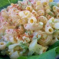 Sweet Amish Macaroni Salad Recipe - Key Ingredient
