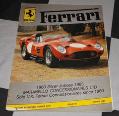 FERRARI OWNERS CLUB MAGAZINE WINTER 1984 65 FERRARI DINO 308 GT4 LANCIA STRATOS