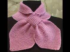 Knitting scarf with braid / braids Crochet Slipper Pattern, Crochet Slippers, Crochet Scarves, Knit Crochet, Knitting Patterns, Crochet Patterns, Neck Scarves, Neck Warmer, Modest Fashion