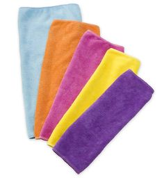 aed62b2f89 reuseit Reusable Cleaning Cloths Set of 5 Green Cleaning