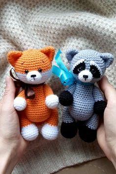 Easy crochet patterns amigurumi animals and more by ToysByKnitFriends Crochet Amigurumi, Crochet Teddy, Crochet Baby Shoes, Crochet Bear, Amigurumi Doll, Crochet Animals, Crochet Dolls, Crochet Pattern Free, Crochet Patterns Amigurumi