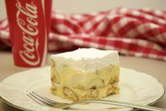 Kolac s bananama i pudingom Brze Torte, Kolaci I Torte, Baking Recipes, Cake Recipes, Dessert Recipes, New Recipes, Croatian Recipes, Sweet Cakes, Food Design