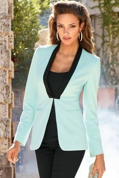 Proper ponte blazer in Trend 2013 from Boston Proper on shop.CatalogSpree.com, my personal digital mall.