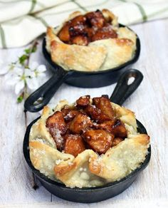 Rustic Apple Pie Tarts