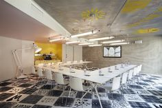 Mama Shelter Interior designed by Philippe Starck and featuring Anglepoise and Arper http://www.nest.co.uk/browse/designer/philippe-starck