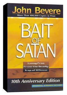 "Have you ever been trapped? This book exposes one of Satan's most deceptive snares used to pull believers out of God's will. It is the trap of offense. Jesus said, ""It is impossible that offenses will not come"" (Luke 17:1). The question is not, ""Will you encounter the bait of Satan?"" Rather, ""How will you respond?"" Don't let another's sin or mistake affect your relationship with God! Includes a 30-day devotional. $13.99"