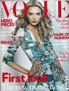 British Vogue Aug 2008 Cover (British Vogue)