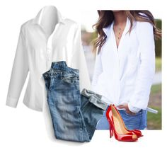 """Classic"" by simple-wardrobe ❤ liked on Polyvore featuring Coldwater Creek and Christian Louboutin"
