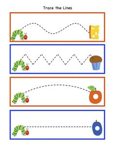 Preschool Printables: Hungry Caterpillar to Beautiful Butterfly Printable: