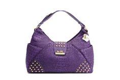Purple Coach Purse Crocodile Hobo Bags Handbags