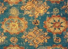 Early Anatolian Turkish rug fragment, 14-15th centuries. published Jon Thompson, Milestones in the History of Carpets