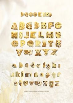 cookie font #typography