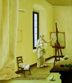 La stanza della Venere di Arles - 80x70 cm