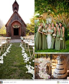 It would be a dream come true to find an old rustic church & setting like this.