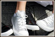 Unusual Shoes for Your Wedding Theme: Converse Shoes