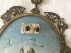 French vintage small earrings in silver and black jet, small vintage clips, vintage jewels de la boutique VintagedeFrance sur Etsy