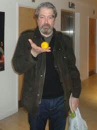 Douglas Richardson and his lemon