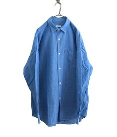 COMOLI ベタシャンコモリシャツ(BLUE) - FLORAISON