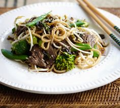 Lime and Sesame Beef Stir-fry