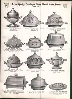 1915 Ad Webster Silver Co Hollow Ware Coffee Pot Soup Tureen Butter Dish