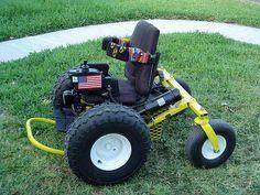 OFF ROAD sillas de ruedas eléctricas