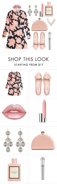 """""""Say you love me"""" by theodor44444 ❤ liked on Polyvore featuring Paul & Joe Sister, Lime Crime, Clinique, Ted Baker, Gucci, Morgan Lane and Anita Ko"""