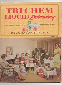New to Craftyology on Etsy: Tri-Chem Liquid Decorator's Guide Catalog 60's Sixties Kitch Crafting (19.99 USD)