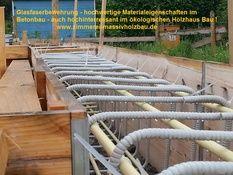 Glasfaserbewehrung - hochwertige Materialeigenschaften - sehr interessant auch für den ökologischen Holzhaus Bau. http://www.zimmerei-massivholzbau.de/nur-holz-bausystem.html