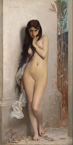 Jules Lefebvre - La Cigale (1872)