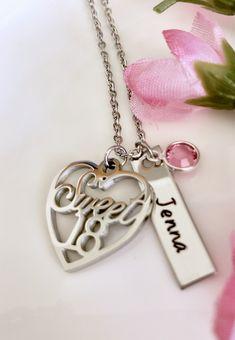 Hand Stamped Necklace, Dog Tag Necklace, Dog Tags, Jewelry, Jewlery, Jewerly, Schmuck, Jewels, Jewelery