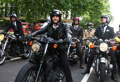 The Distinguished Gentleman's Ride London 2013