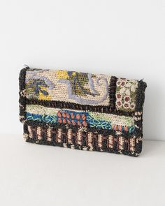 JAMIN PUECH crochet clutch bag