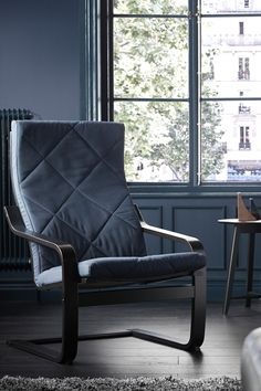 Comfy IKEA POÄNG Chairs Come In A Variety Of Frames And Fabric Covers So  That You · Living Room ...