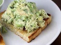 No-Mayo Avacado Chicken Salad RecipeDinner idea.