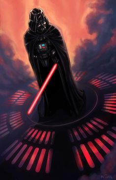 Darth Vader, Dark Lord of the Sith.  -  I blame him entirely for making me think that the villains were likable my entire life.   ;)