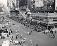 1950's Frieda the dachshund balloon from the Macy's Thanksgiving parade